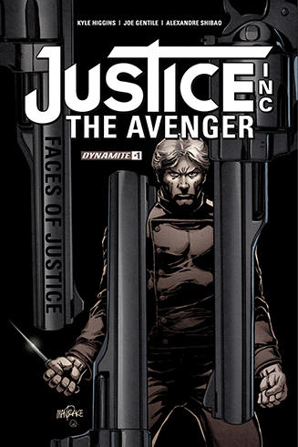 049. Justice Inc: The Avenger Faces of Justice #1B