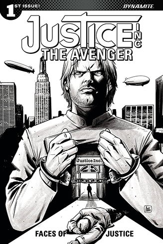 048. Justice Inc: The Avenger: Faces of Justice #1C