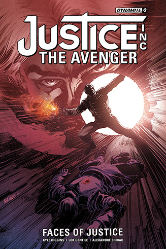 047. Justice Inc: The Avenger: Faces of Justice #2