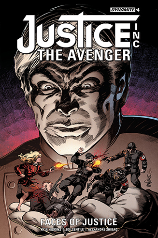 045. Justice Inc: The Avenger: Faces of Justice #4