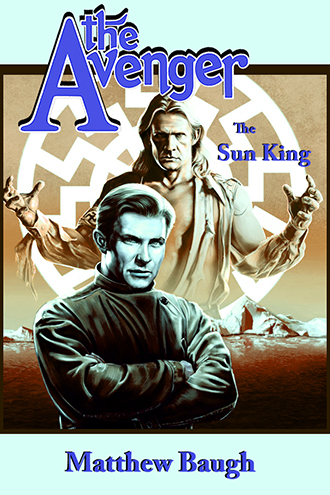 053. The Avenger: The Sun King HC signed