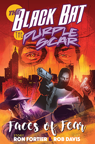 0. The Black Bat & Purple Scar sc