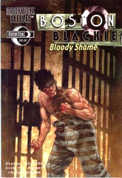 Boston Blackie: Bloody Shame TPB