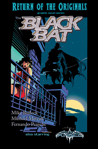013. The Black Bat - Moonstone Exclusive HC
