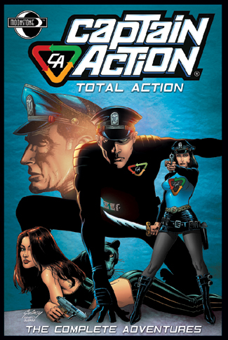 010. The Complete CAPTAIN ACTION tpb