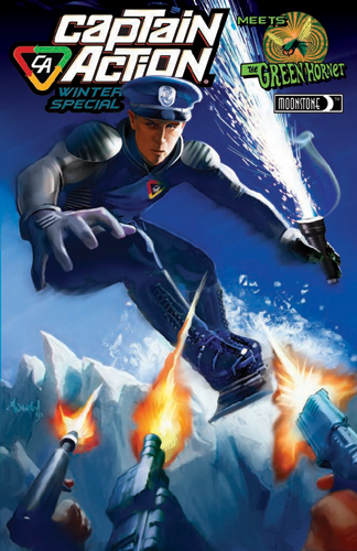 059. Captain Action/Green Hornet Winter special (A)