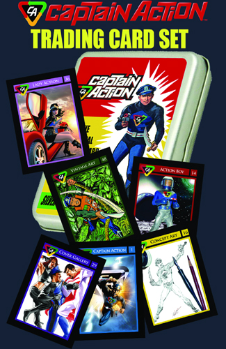 080. Captain Action Trading Card Set