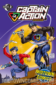 256. Captain Action: #1 (excl)
