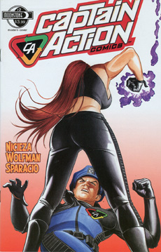 254. Captain Action: #2 (signed)