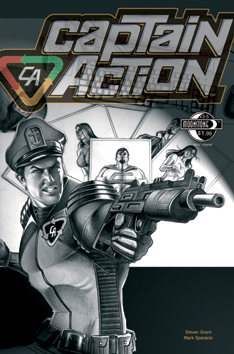 103. Captain Action: #3.5(B) Re-action