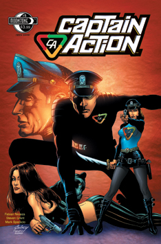 101. Captain Action: #5 (retro)