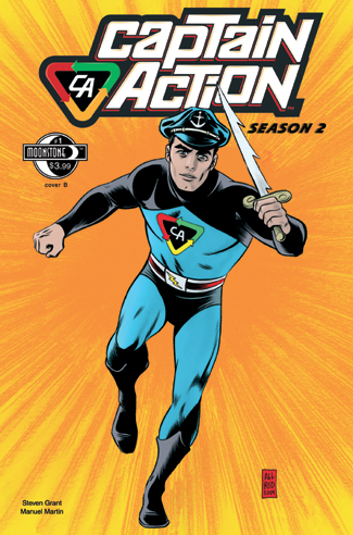 079. Captain Action Season 2, #1(B)