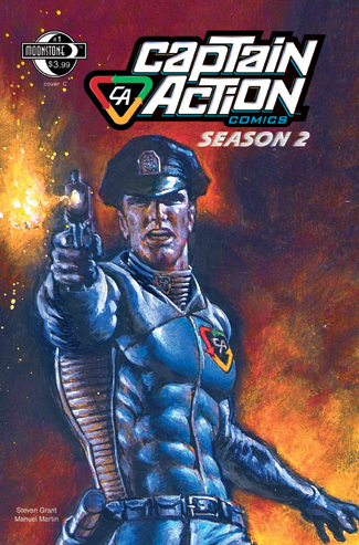 079. Captain Action Season 2, #1(C)