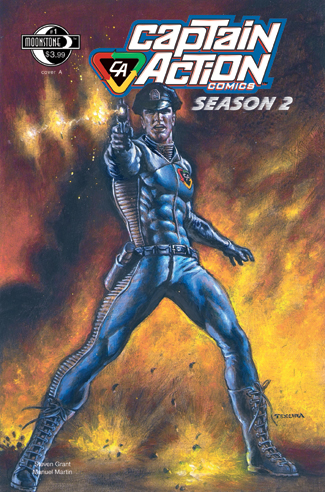 079. Captain Action Season 2, #1(A)