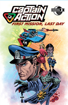 Captain Action: First Mission, Last Day (variant)