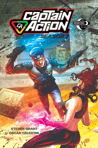 078. Captain Action: Season 2, #2A