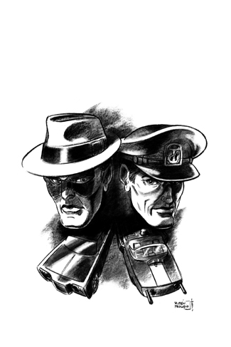 061. Captain Action/Green Hornet Winter Special (C)