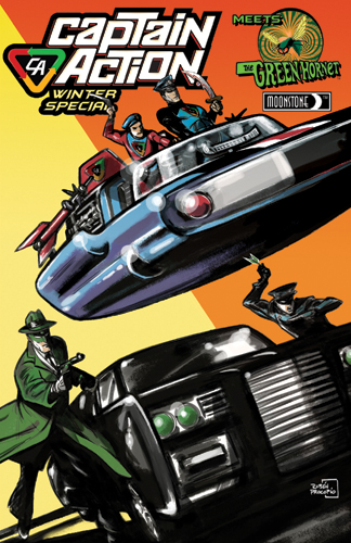 060. Captain Action/Green Hornet Winter Special (B)