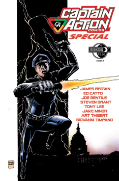 09975. Captain Action Special (signed)