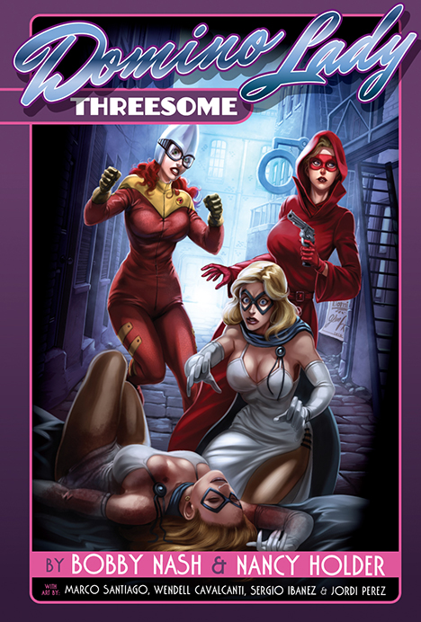 0. Domino Lady Threesome tpb