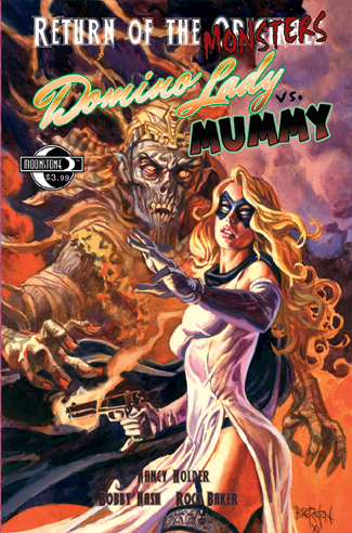 056. Return of the Monsters: DOMINO LADY vs Mummy