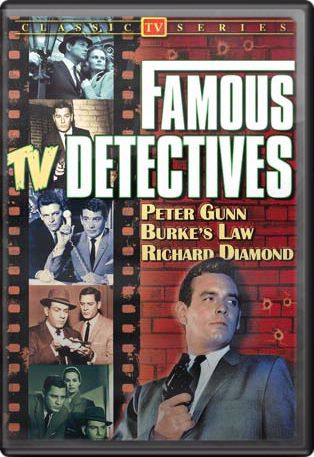 Famous TV Detectives DVD