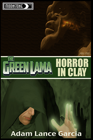 050. Green Lama: Horror in Clay novel