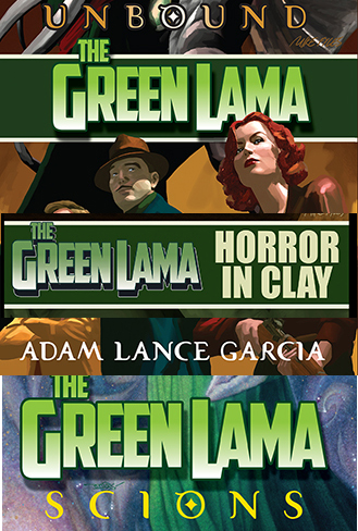 054. Green Lama: Triple chant pack