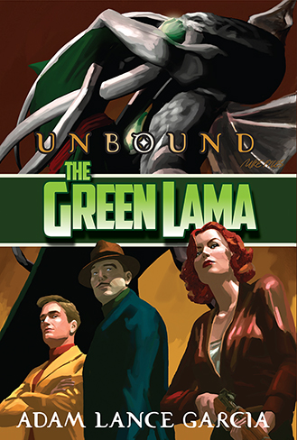 049. The Green Lama: Unbound (signed)