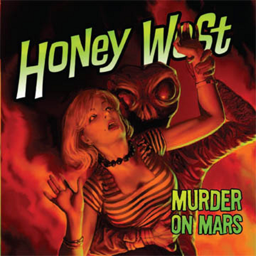 051. Honey West: Murder on Mars CD