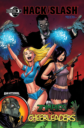 384. HACK Slash meets Zombies Vs Cheerleaders #1A