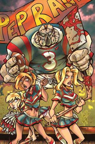 387. Hack Slash meets Zombies vs Cheerleaders #1D