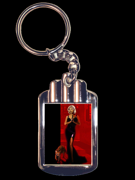 096. Honey West Keychain