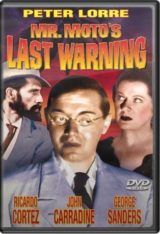 Mr. Moto's Last Warning DVD