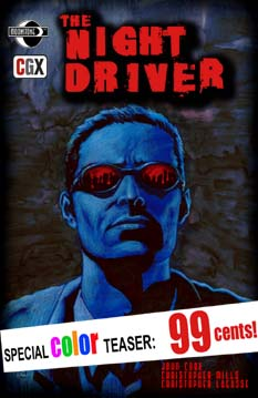 The Night Driver: Teaser (cover A)