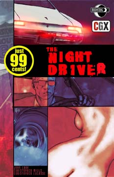 The Night Driver: Teaser (cover B)