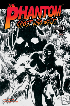 145. The Phantom: Ghost Who Walks #1 (sketch)