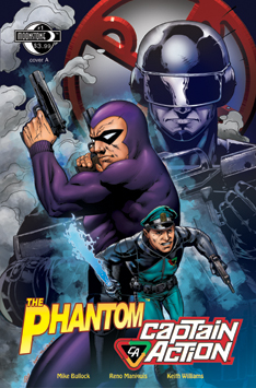 0993. Phantom-Captain Action #1A
