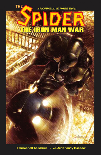 054. The SPIDER: The Iron Man War