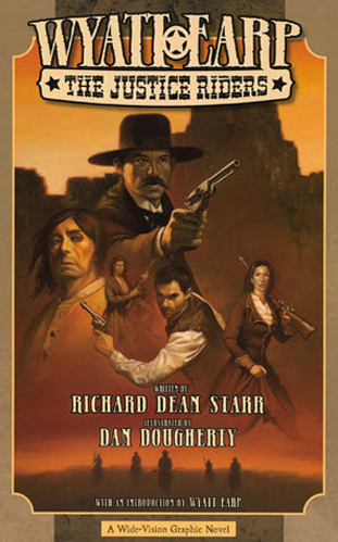 800. Wyatt Earp: The Justice Riders (book market)