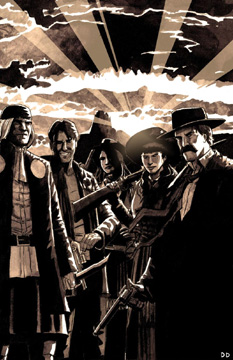 Wyatt Earp: Justice Riders GN (direct market)
