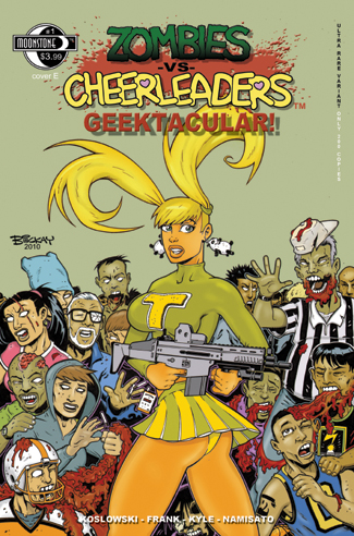 403. Zombies vs Cheerleaders Geek Spec(E)