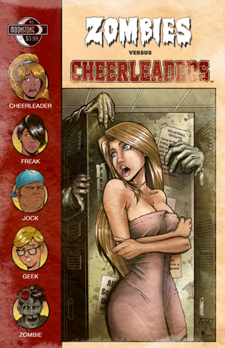 375. Zombies vs Cheerleaders #5(C)