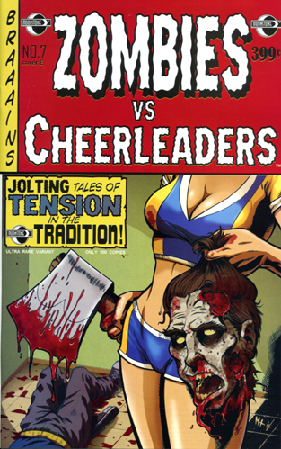 367. Zombies vs Cheerleaders #7E
