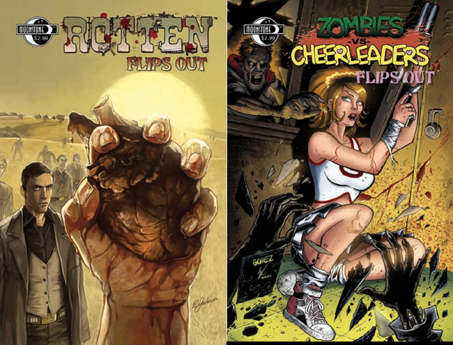 681. Rotten/Zombies vs Cheerleaders Flip book