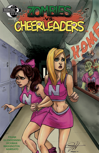 Zombies vs Cheerleaders #1B