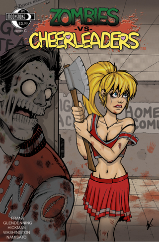 Zombies vs Cheerleaders #1C