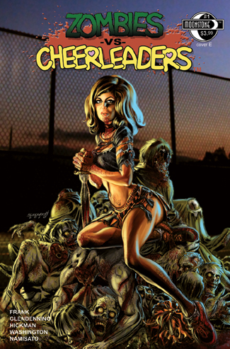 Zombies vs Cheerleaders #1E