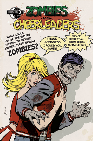 390. Zombies vs Cheerleaders #3C