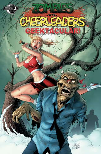 401. Zombies vs Cheerleaders Geek Spec(B)